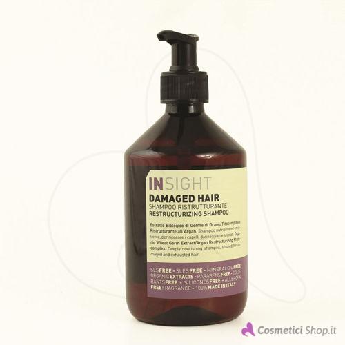 Immagine di Shampoo ristrutturante Damaged Hair Insight