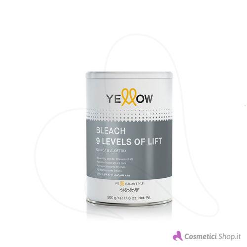 Immagine di Polvere decolorante Bleach 9 levels of lift Yellow Alfaparf