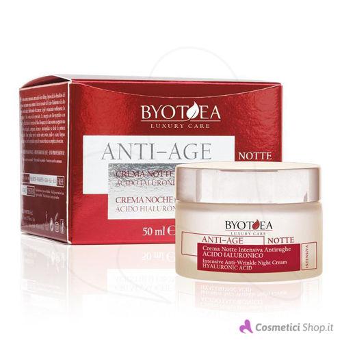 Immagine di Crema viso notte anti-age con Acido Ialuronico Byotea