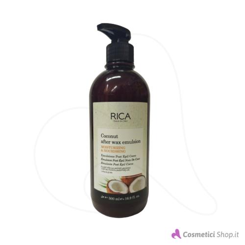 Immagine di Emulsione post epilazione olio di Cocco Rica 500 ml