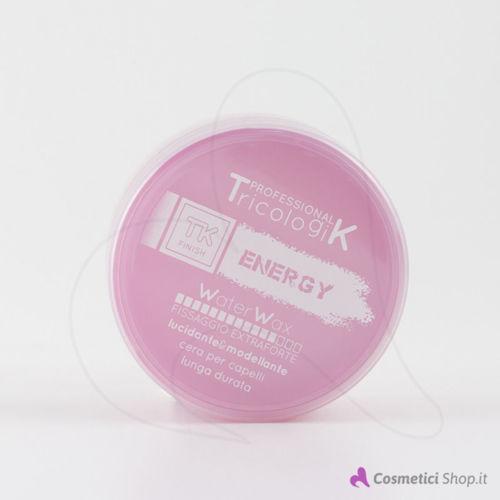 Immagine di Cera per capelli ad acqua extra forte Energy Tricologik