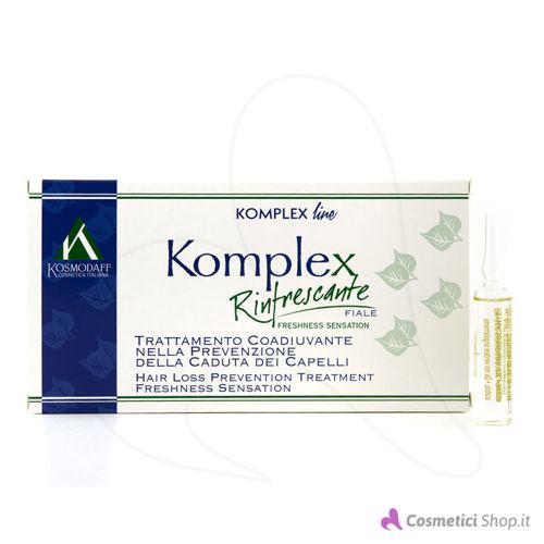 Immagine di Trattamento in fiale anticaduta capelli Komplex Rinfrescante Kosmodaff