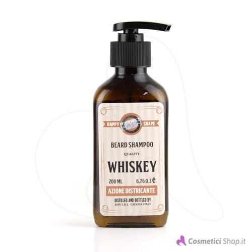 Immagine di Shampoo da barba districante Whiskey Happy Hour 200 ml