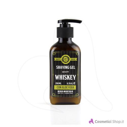 Immagine di Gel da rasatura con Aloe Vera Whiskey Happy Hour 200 ml