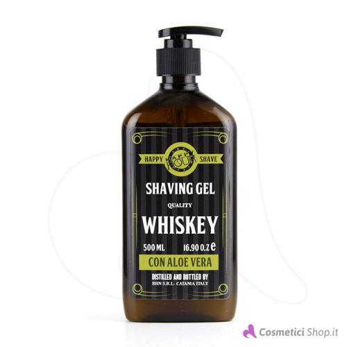 Immagine di Gel da rasatura con Aloe Vera Whiskey Happy Hour 500 ml