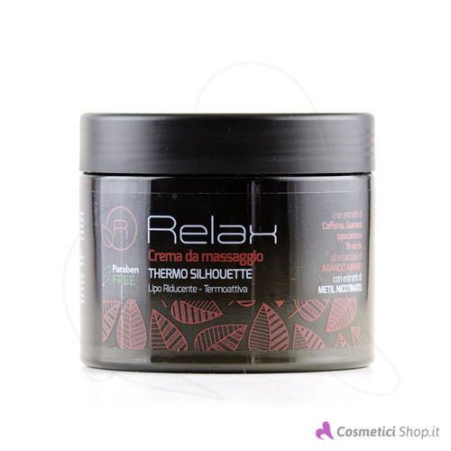 Immagine di Crema massaggio liporiducente Silhouette Relax