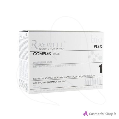Immagine di Additivo ristrutturante per trattamenti tecnici Complex Keratin Bio Plex Raywell